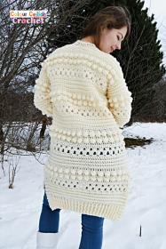 Bobbles of Snow Cardigan for Women, XS-5X-w2-jpg