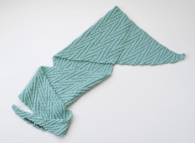 Slithering Shawl, knit-a2-jpg