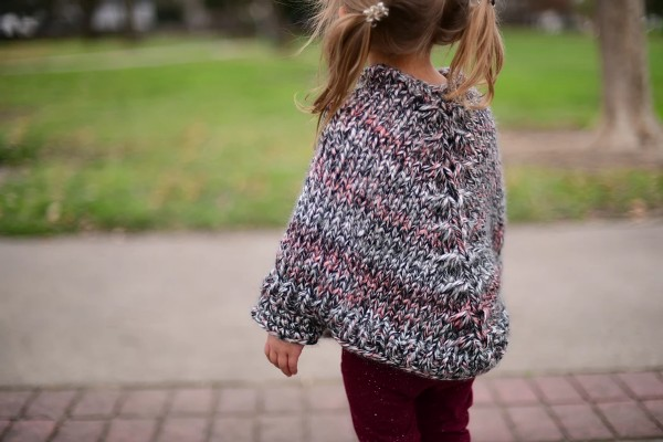 Cora Poncho for Girls, 12 mos to 16 yrs, knit-c3-jpg