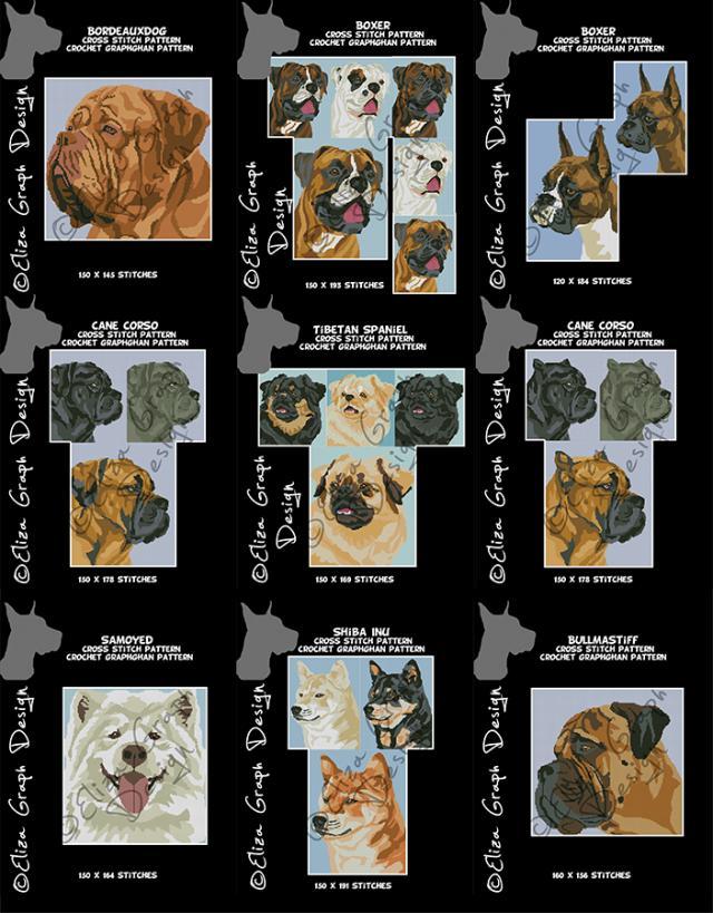 Boxer, Tibetan spaniel, Cane corso, Bordeaux dog, BullMastiff, Samoyed, Shiba Inu-unitled-21-jpg