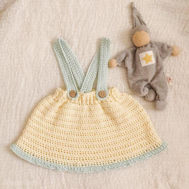 Skirt with Suspenders for Baby, 3-24 mos-f1-jpg