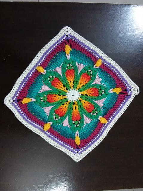 Five Pretty Afghan Squares-e4-jpg