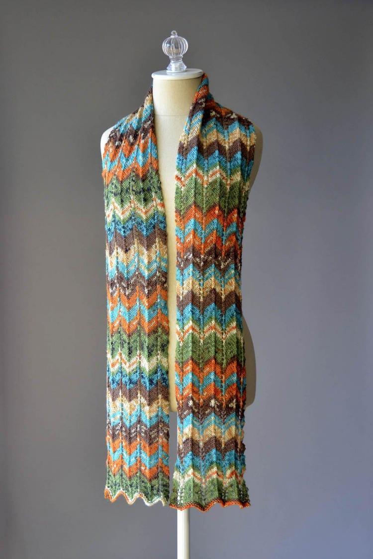 Happy Magic Scarf for Women, knit-d2-jpg