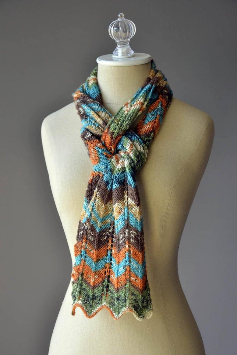 Happy Magic Scarf for Women, knit-d4-jpg