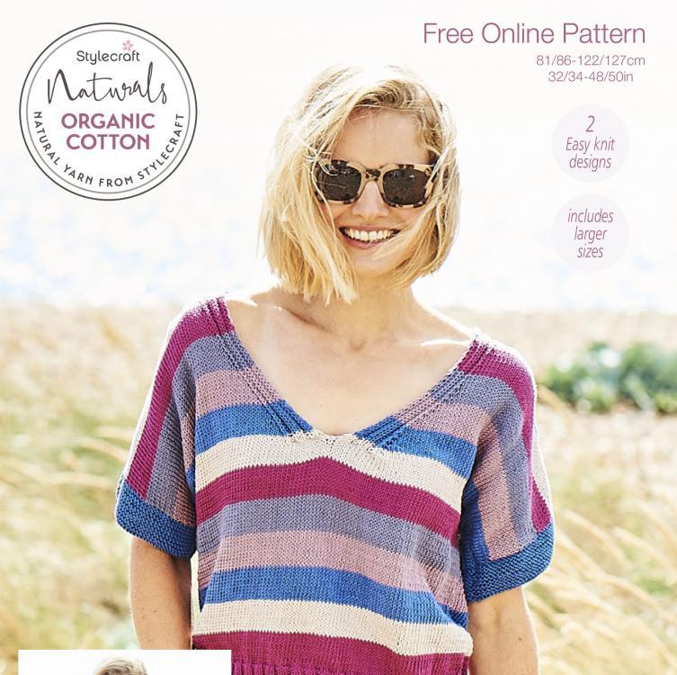 "Two Pretty Tops for Women, 32""-50"", knit-a1-jpg"