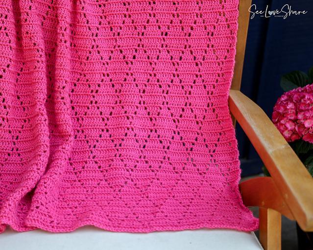 Petunia Lace Diamond Baby Blanket-w1-jpg