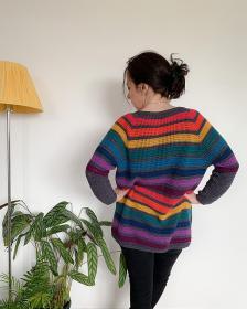 Any Yarn Will Do Seamless Raglan Cardigan for Women, XS-3XL-q3-jpg