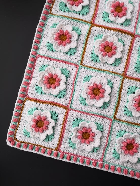 Baby Girl Blanket with 3D Flowers-q1-jpg