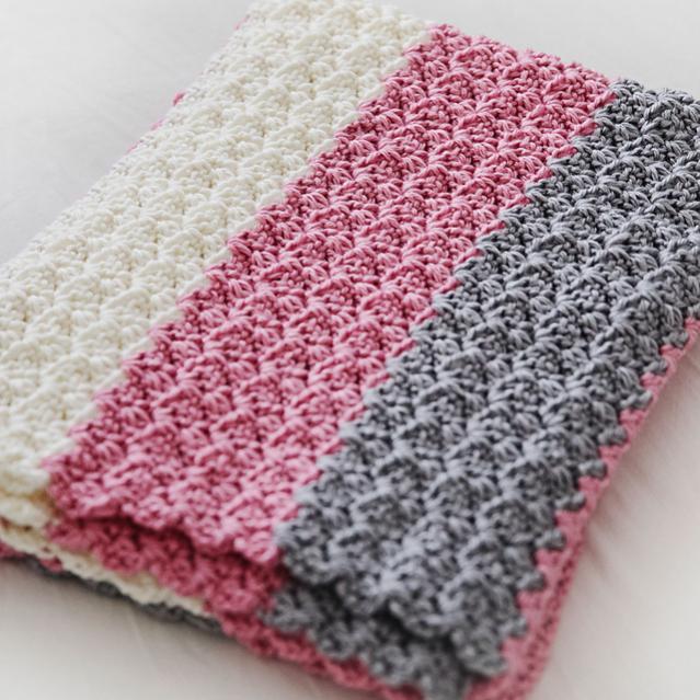 Simply Sweet Baby Blanket-e1-jpg