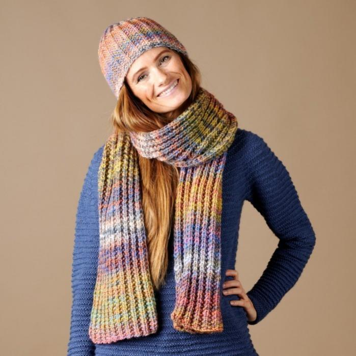 Storm Hat and Scarf for Women, knit-d1-jpg