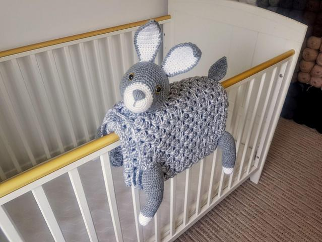 Woodland Bunny Baby Blanket (Free until 6/5/21 5pm UK time)-a1-jpg