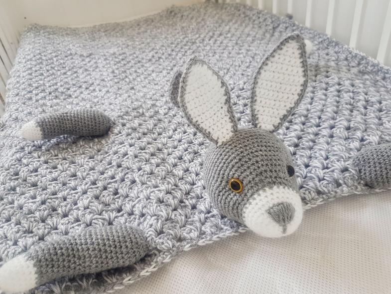 Woodland Bunny Baby Blanket (Free until 6/5/21 5pm UK time)-a2-jpg