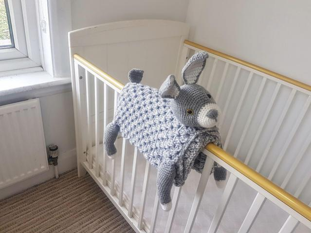 Woodland Bunny Baby Blanket (Free until 6/5/21 5pm UK time)-a4-jpg