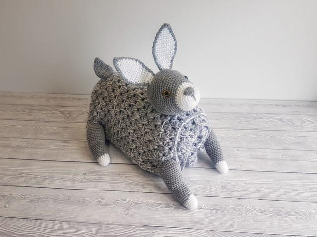 Woodland Bunny Baby Blanket (Free until 6/5/21 5pm UK time)-a6-jpg