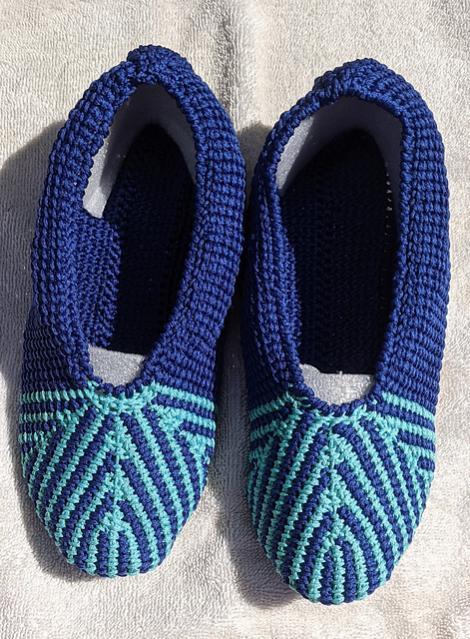 Ashvini Tunisian Slippers, baby 0-13 mos, youth size 1-6, women size 7-12.5-e4-jpg