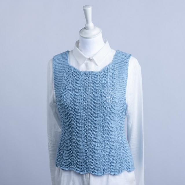 Ida Vest for Women, S-XL, knit-s1-jpg