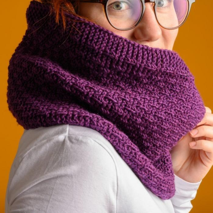 Lea Tube Scarf for Women, knit-r2-jpg