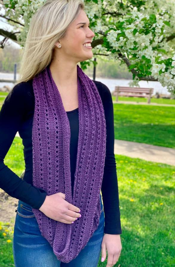 Baby Alpaca Worsted Cowl for Women, knit-d2-jpg