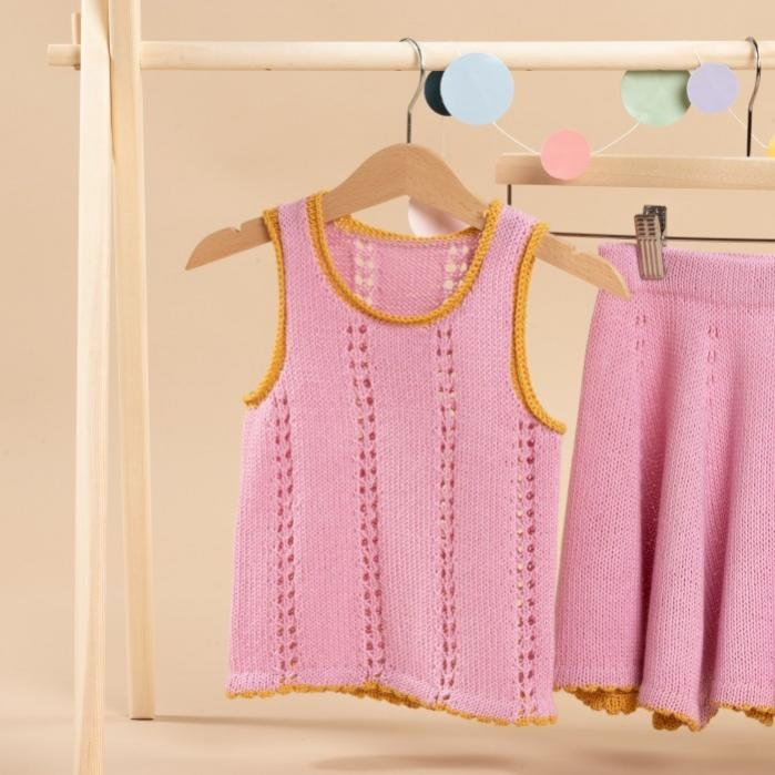 Lou Mini Top and Skirt for Girls, 1-6 yrs, knit-a1-jpg