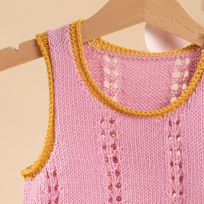 Lou Mini Top and Skirt for Girls, 1-6 yrs, knit-a2-jpg
