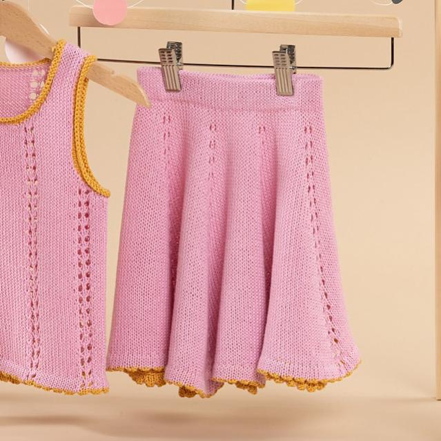 Lou Mini Top and Skirt for Girls, 1-6 yrs, knit-a3-jpg