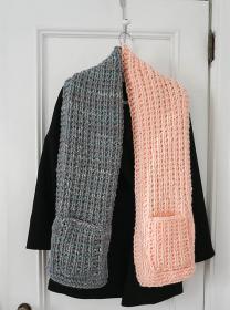 Color Blocked Pocket Scarf, knit-a1-jpg
