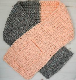 Color Blocked Pocket Scarf, knit-a4-jpg