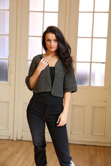 Stellato Bolero for Women, XS-XL, knit-d1-jpg