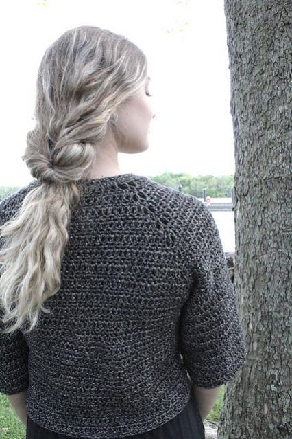Stellato Bolero for Women, XS-XL, knit-d4-jpg