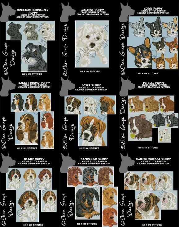 Basset Hound, Beagle, Boxer Corgi Dachshund English Bulldog Maltese Miniature Schnauz-unitled-1s-jpg