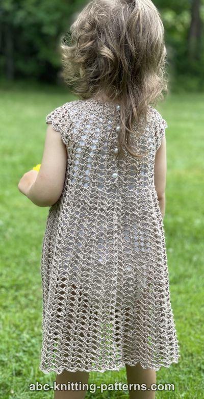 Children's Summer Shell Dress for Girls, 2-8 yrs-q3-jpg