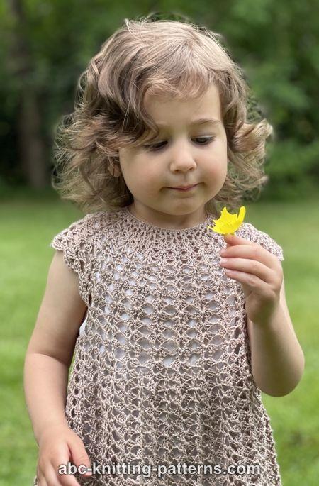 Children's Summer Shell Dress for Girls, 2-8 yrs-q4-jpg