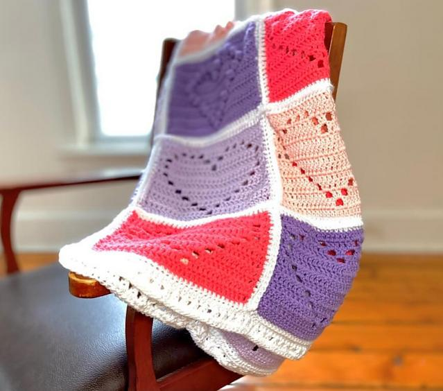 Love You With All My Heart Blanket-e1-jpg