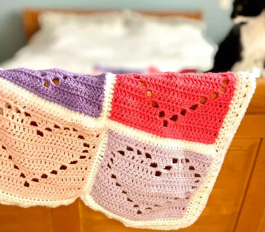 Love You With All My Heart Blanket-e2-jpg