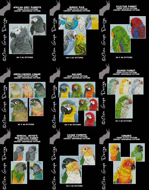 African Grey parrot, Caique, Conure, Macaws, Senegal Parrot, Quaker parrot,-unitled-1s-jpg