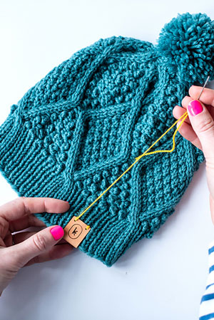 Three Lovely Hats for Women, knit-d3-jpg