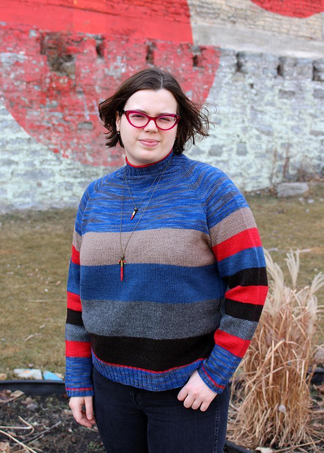 Sock Knitter's Pullover for Women, XS-6X, knir-s3-jpg