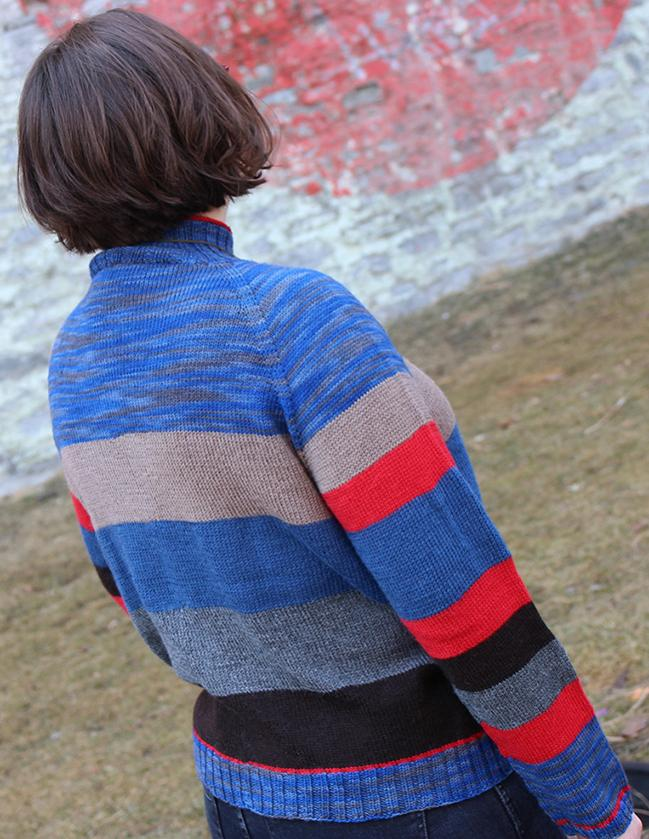 Sock Knitter's Pullover for Women, XS-6X, knir-s4-jpg
