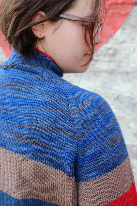 Sock Knitter's Pullover for Women, XS-6X, knir-s5-jpg