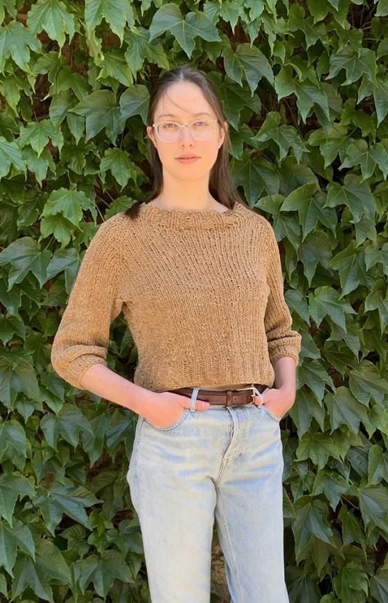 Velvet Pullover for Women, XS-5X, knit-a1-jpg