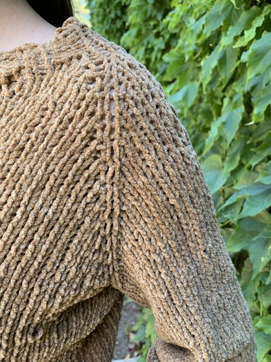 Velvet Pullover for Women, XS-5X, knit-a2-jpg