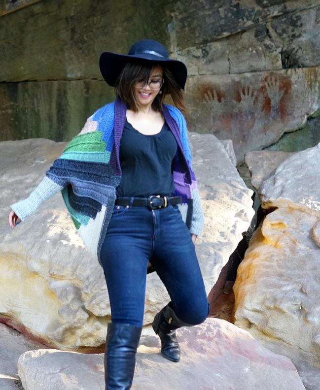 Quilted Shrug for Women, size is customized-a1-jpg