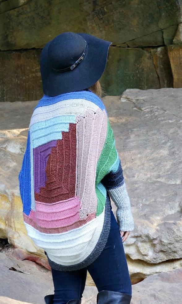 Quilted Shrug for Women, size is customized-a3-jpg
