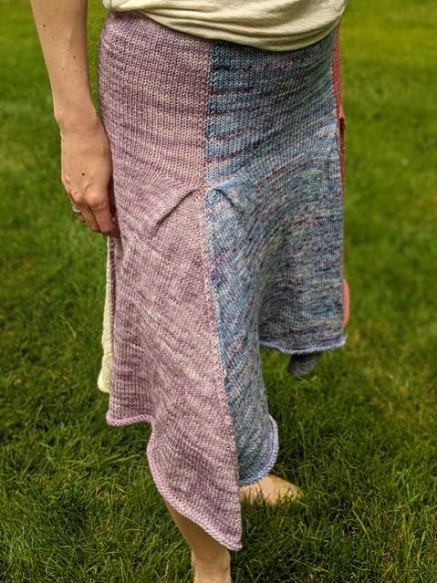 Petal Skirt for Women, XS-5XL, knit-a3-jpg