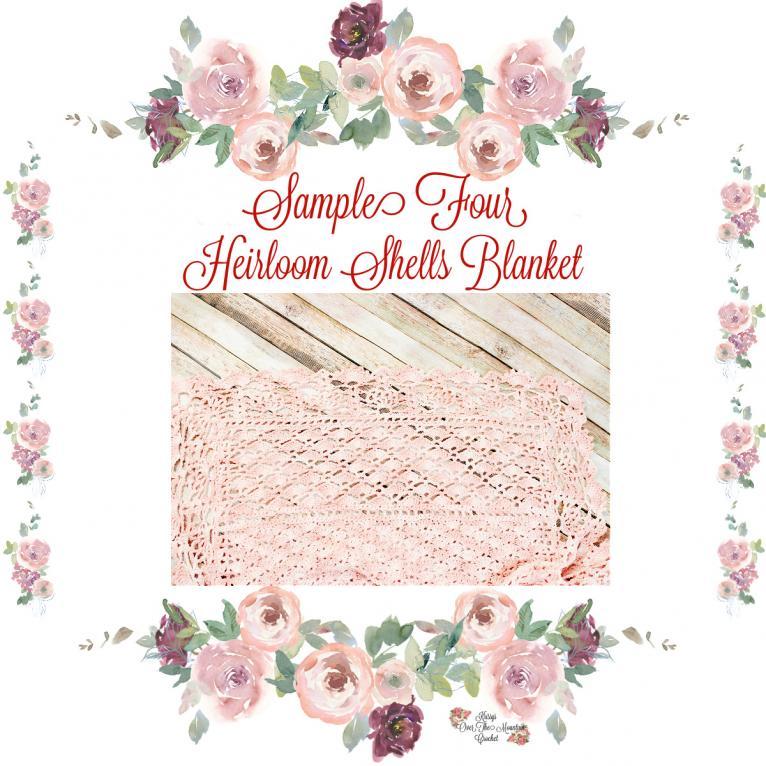 Heirloom Shells Sampler Baby Blanket CAL (free until 10/25/21)-e5-jpg