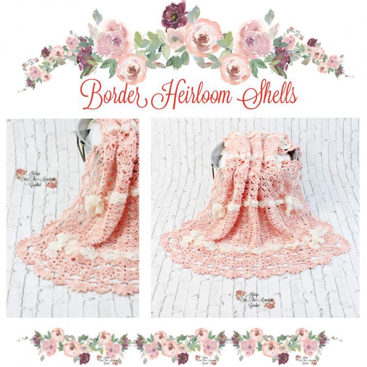Heirloom Shells Sampler Baby Blanket CAL (free until 10/25/21)-e6-jpg