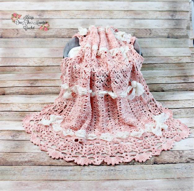 Heirloom Shells Sampler Baby Blanket CAL (free until 10/25/21)-e7-jpg