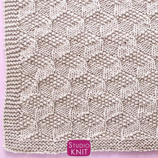 Tumbling Blocks Blanket, knit-a1-jpg