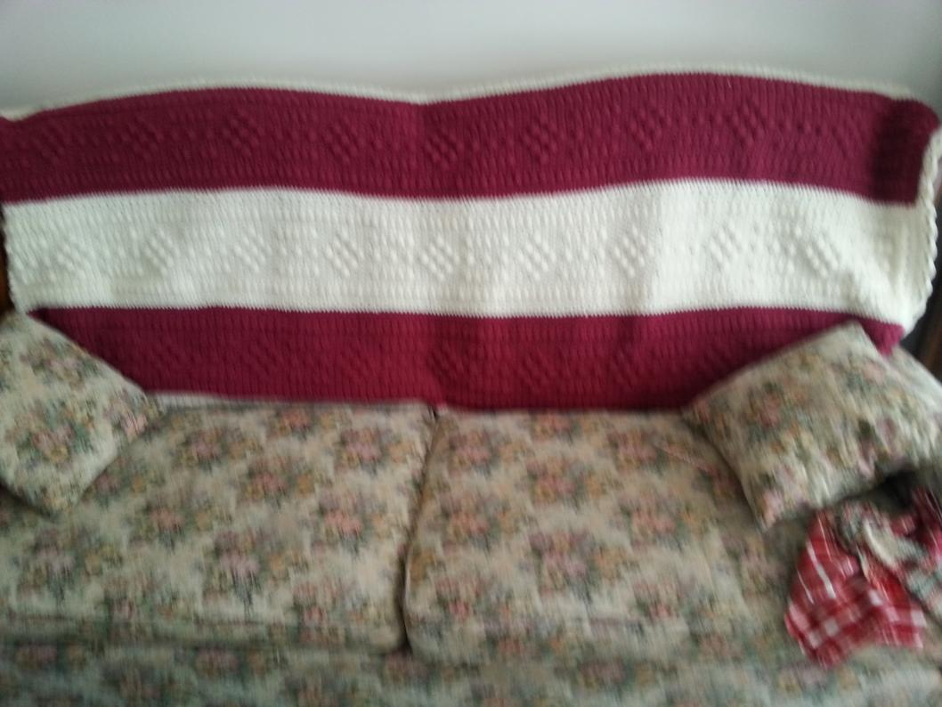 New projects-maroon-aaron-square-cut-diamond-throw-afghan-jpg