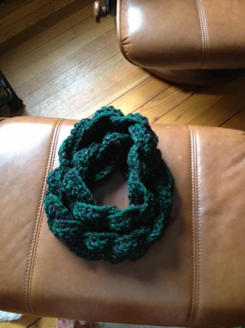 I am new to this-green-cowl-jpg